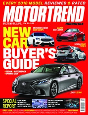 Cover Majalah MOTOR TREND Indonesia September 2017