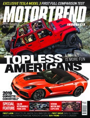 MOTOR TREND Indonesia Magazine Cover February 2018