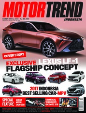 MOTOR TREND Indonesia Magazine Cover March 2018