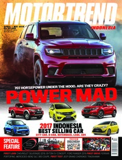 Cover Majalah MOTOR TREND Indonesia April 2018