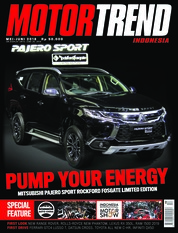 MOTOR TREND Indonesia Magazine Cover May 2018