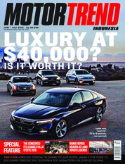 MOTOR TREND Indonesia Magazine Cover June 2018