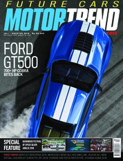 MOTOR TREND Indonesia Magazine Cover July-August 2018