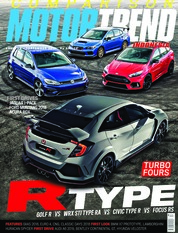 MOTOR TREND Indonesia Magazine Cover August-September 2018