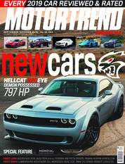 MOTOR TREND Indonesia Magazine Cover September-October 2018