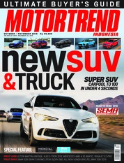 MOTOR TREND Indonesia Magazine Cover October 2018