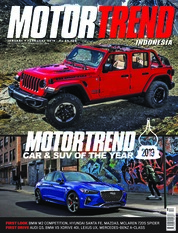 MOTOR TREND Indonesia Magazine Cover January 2019