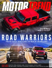 Cover Majalah MOTOR TREND Indonesia