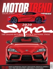 MOTOR TREND Indonesia Magazine Cover April 2019