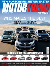 MOTOR TREND Indonesia Magazine Cover May 2019