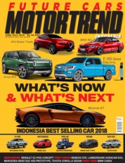 MOTOR TREND Indonesia Magazine Cover June 2019
