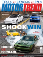 MOTOR TREND Indonesia Magazine Cover