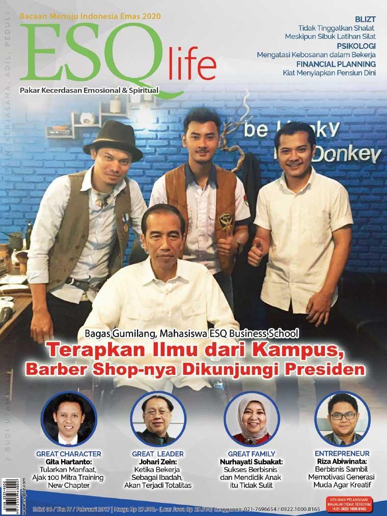 Majalah Digital ESQ life Februari 2017