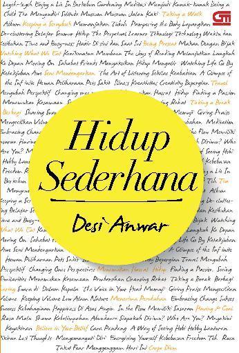 Buku Digital Hidup Sederhana oleh Desi Anwar
