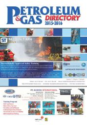 Cover Majalah Yellow Pages - PETROLEUM & GAS DIRECTORY