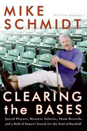 Clearing the Bases by Mike Schmidt Cover