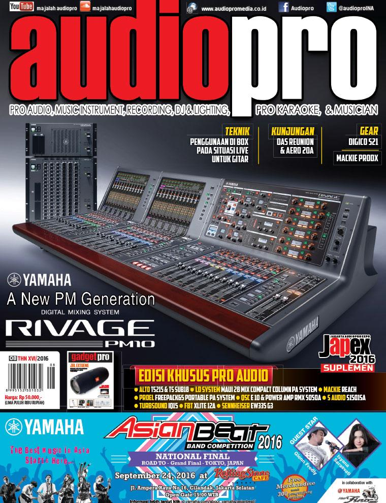 Audiopro Digital Magazine August 2016