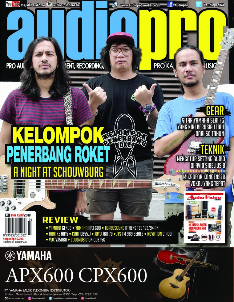 Majalah Digital audiopro Januari 2018