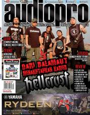 Audiopro Magazine Cover July 2017