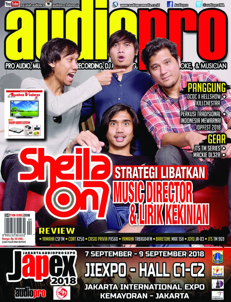 Audiopro Digital Magazine April 2018