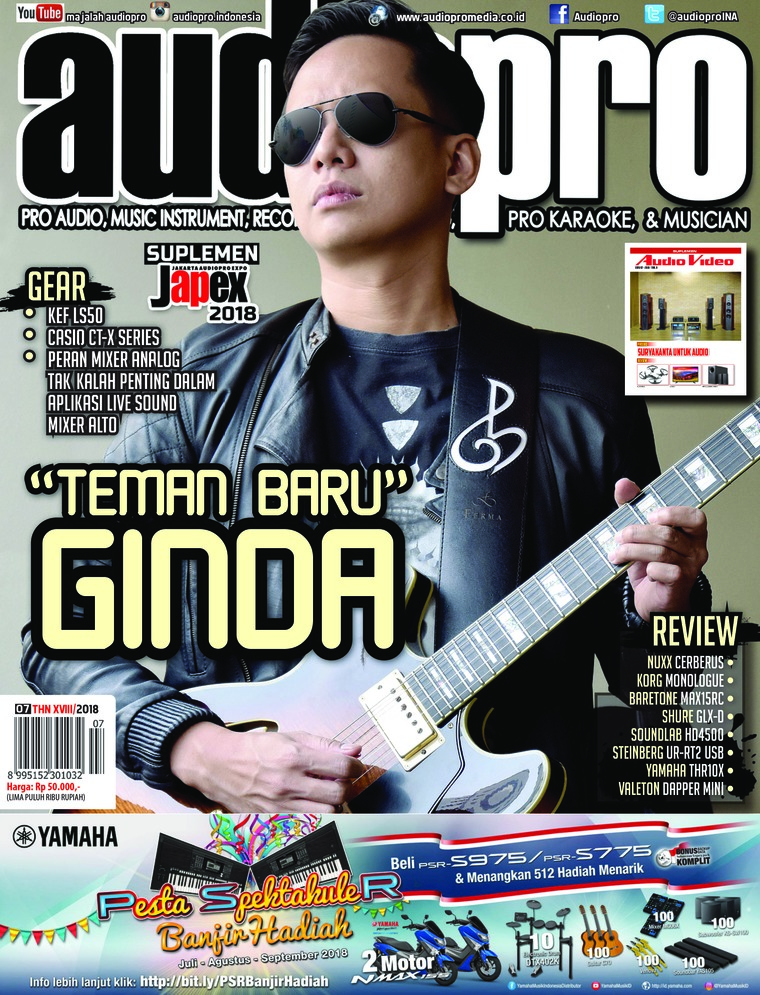 Majalah Digital audiopro Juli 2018