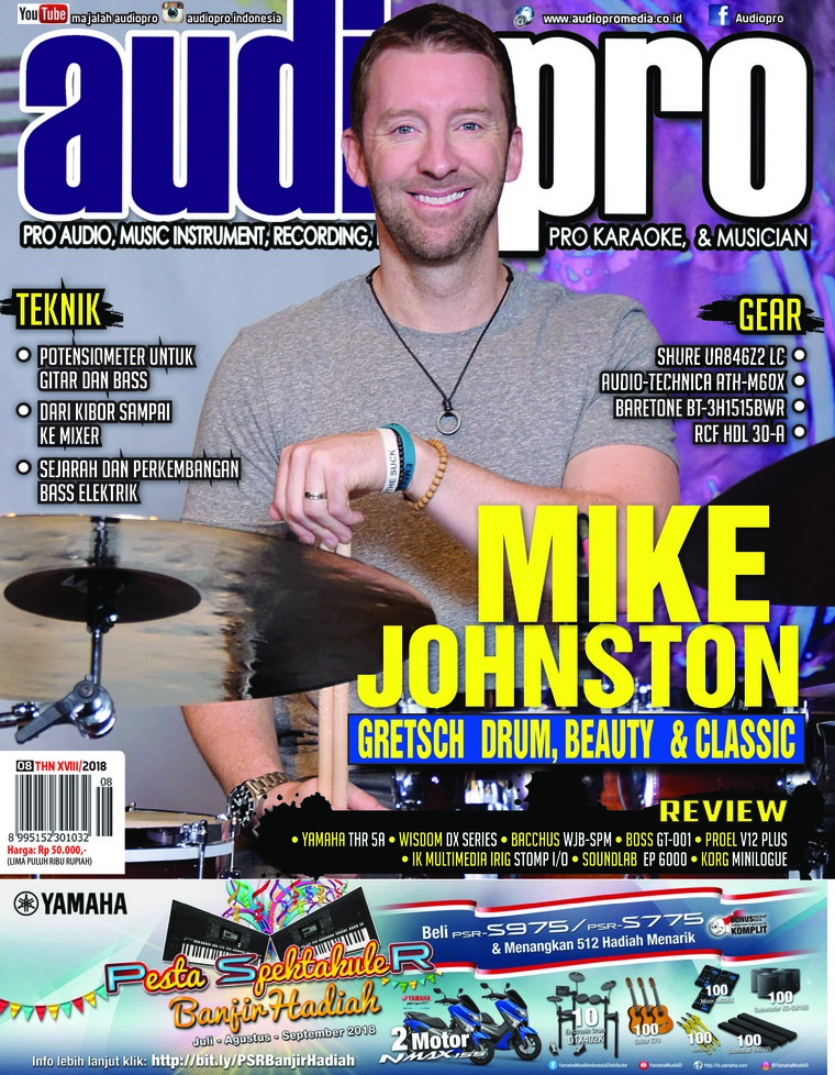 Majalah Digital audiopro Agustus 2018