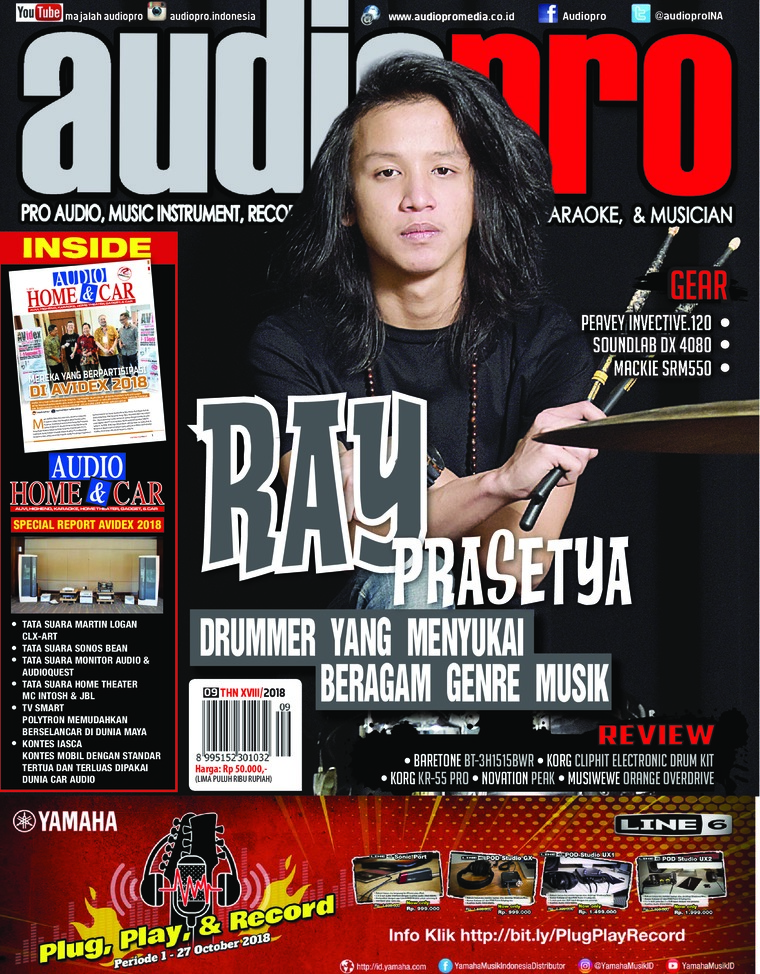Majalah Digital audiopro September 2018