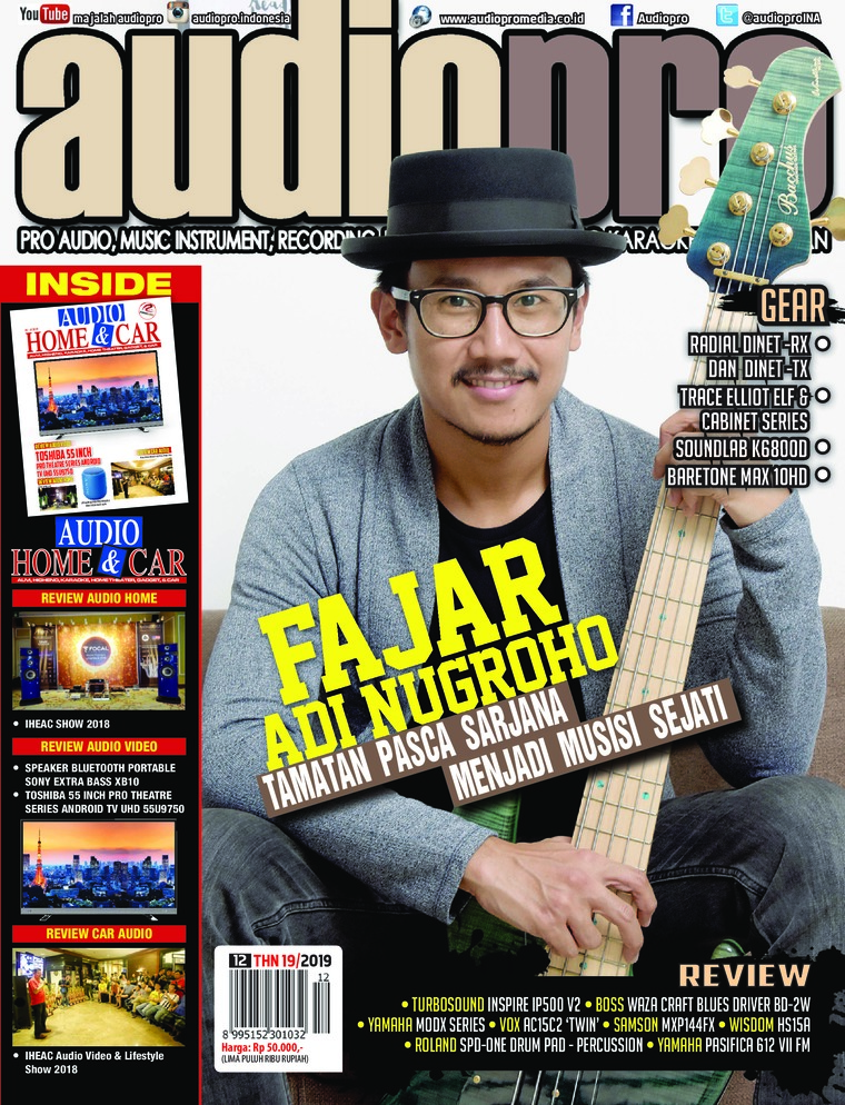 Majalah Digital audiopro Desember 2018