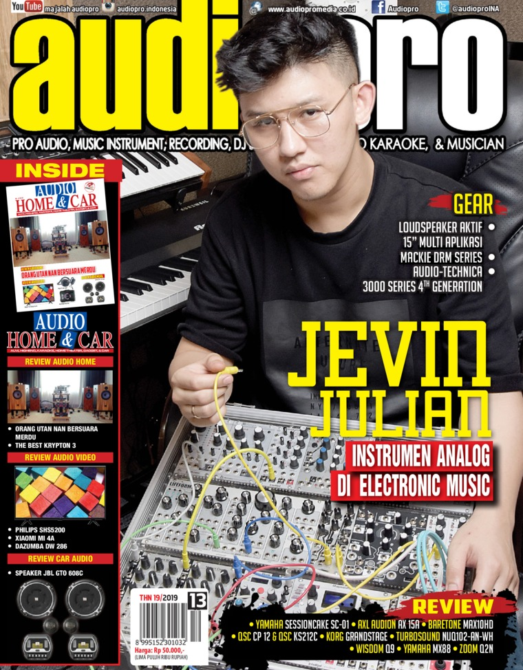 Majalah Digital audiopro Januari 2019
