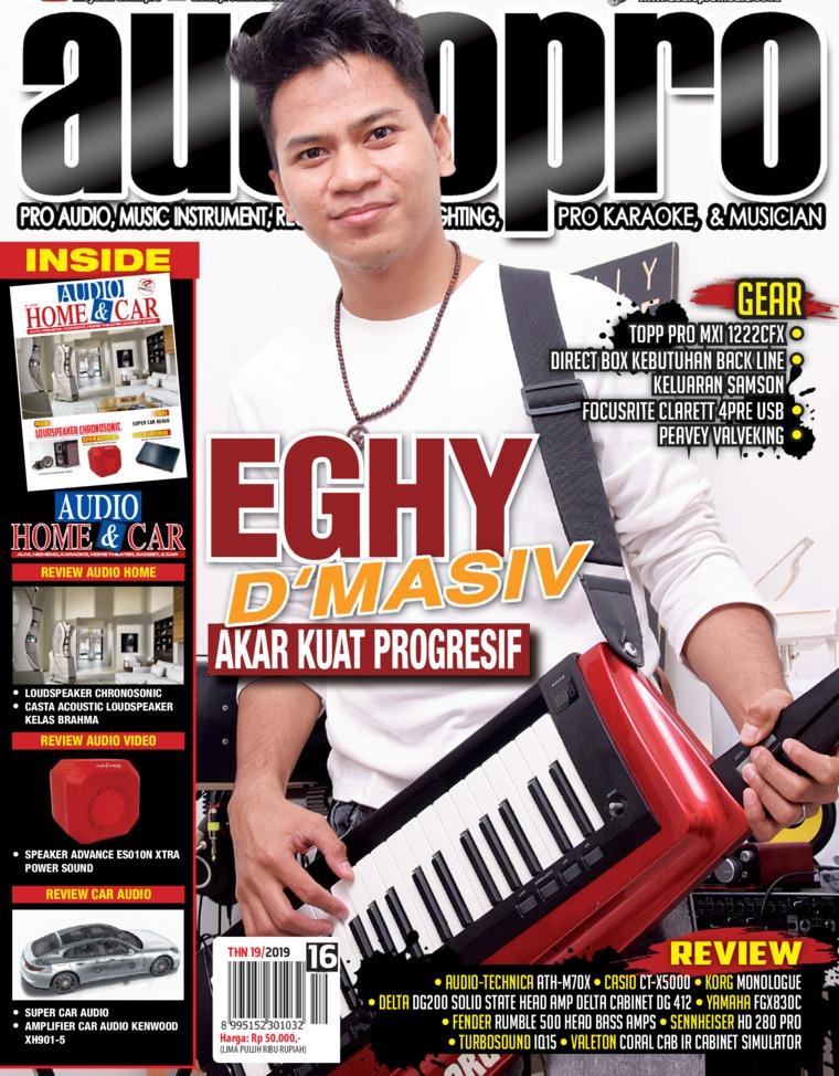 Majalah Digital audiopro April 2019