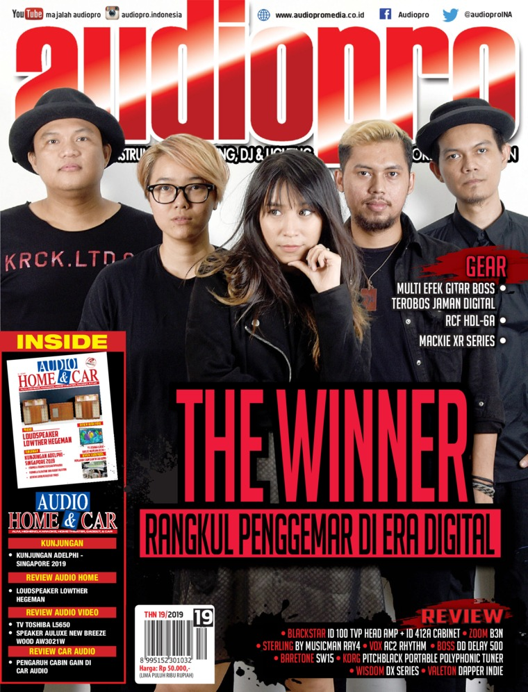 Majalah Digital audiopro Juli 2019