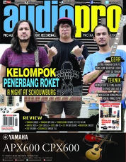 Audiopro Magazine Cover January 2018