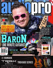 Audiopro Magazine Cover May 2018