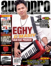 Audiopro Magazine Cover April 2019