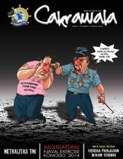 Cover Majalah Cakrawala Maret 2014
