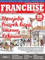 Cover Majalah INFO FRANCHISE Indonesia Desember 2017