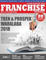 Cover Majalah INFO FRANCHISE Indonesia Januari 2018