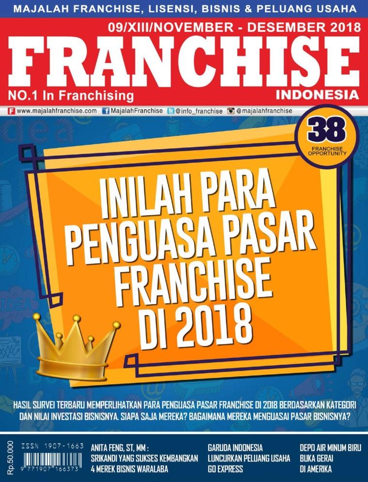 Majalah Digital INFO FRANCHISE Indonesia November-Desember 2018