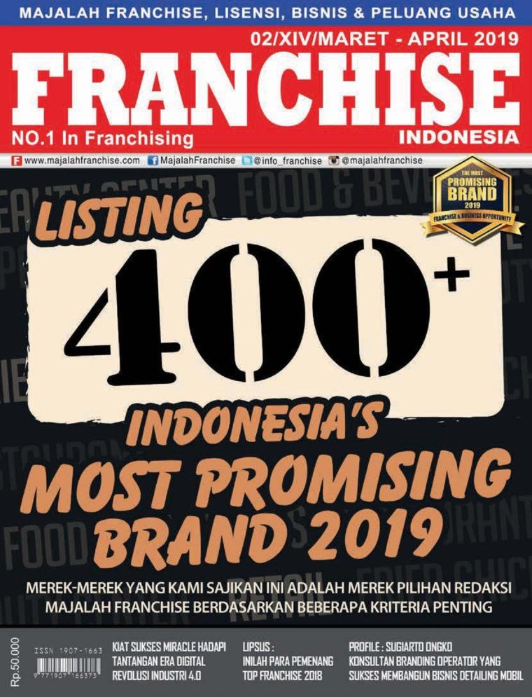 Majalah Digital INFO FRANCHISE Indonesia ED 02 April 2019