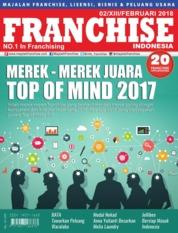 Cover Majalah INFO FRANCHISE Indonesia Februari 2018