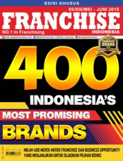 Cover Majalah INFO FRANCHISE Indonesia