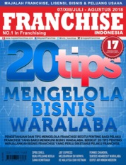 INFO FRANCHISE Indonesia Magazine Cover