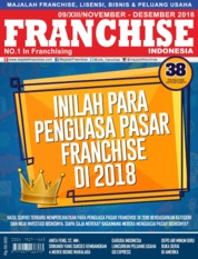 Cover Majalah INFO FRANCHISE Indonesia November-Desember 2018