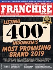 Cover Majalah INFO FRANCHISE Indonesia ED 02 April 2019
