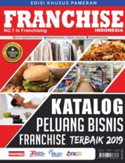 Cover Majalah INFO FRANCHISE Indonesia ED 03 Juli 2019