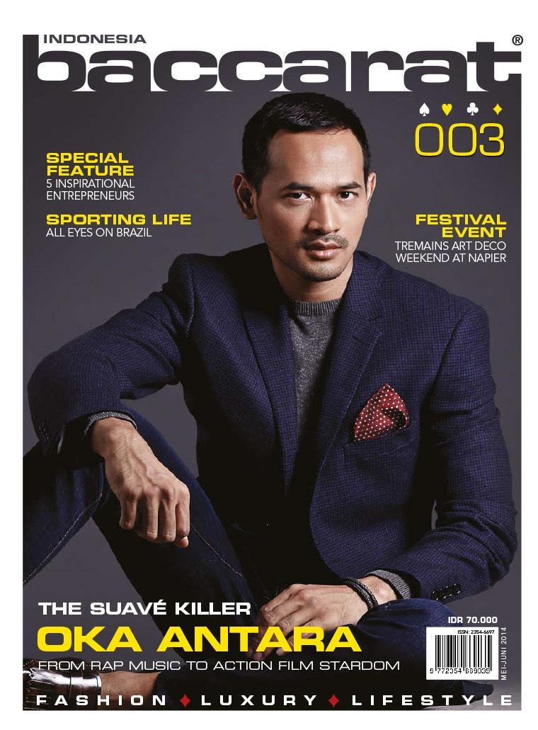 Jual Majalah Baccarat Indonesia ED 03 2014 - Gramedia