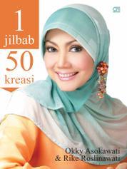 Cover 1 Jilbab 50 Kreasi oleh Okky Asokawati