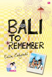 TeenLit: Bali to Remember by Cover
