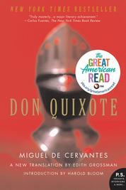 Don Quixote by Miguel de Cervantes Cover