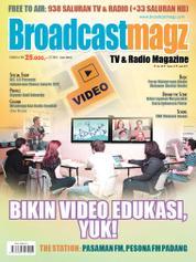 Cover Majalah Broadcast Magz ED 66 Juni 2017